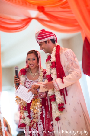 Indian wedding bride groom traditional customs in Jersey City, New Jersey Indian Wedding by Damion Edwards Photography