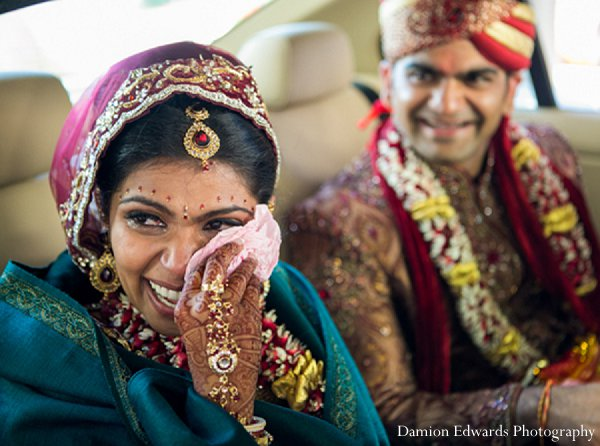 Indian wedding bride groom photography portrait in New Brunswick, NJ Indian Wedding by Damion Edwards Photography