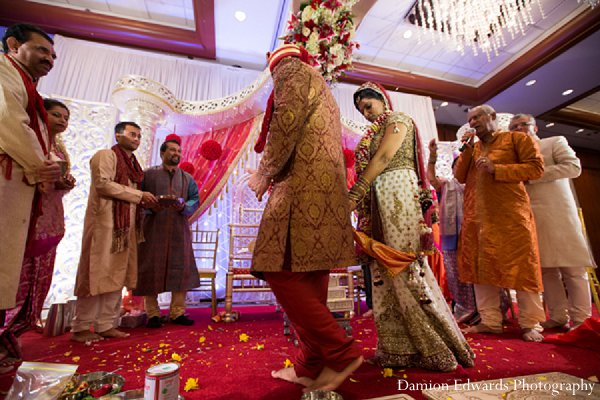 Indian wedding ceremony traditions photography in New Brunswick, NJ Indian Wedding by Damion Edwards Photography