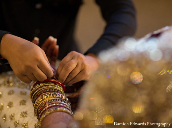 Indian wedding jewelry bride getting ready in New Brunswick, NJ Indian Wedding by Damion Edwards Photography