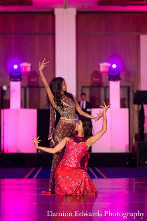 Indian wedding reception entertainment in New Brunswick, NJ Indian Wedding by Damion Edwards Photography