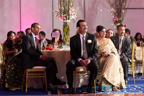 Indian wedding reception guests photography in New Brunswick, NJ Indian Wedding by Damion Edwards Photography