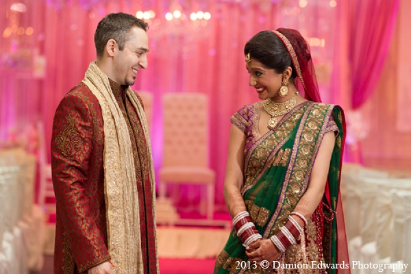 Rockleigh new jersey indian wedding by damion edwards for Indian wedding dresses new york