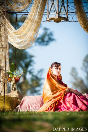 Indian wedding bridal portrait inspiration shoot