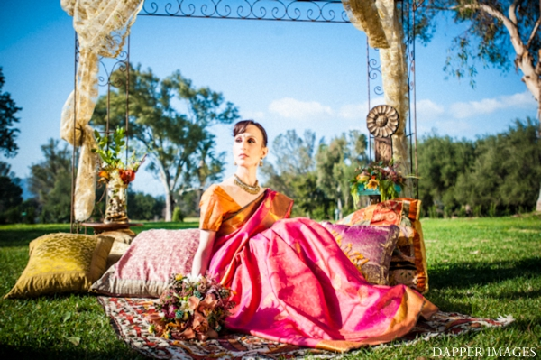 Indian wedding bridal inspiration shoot