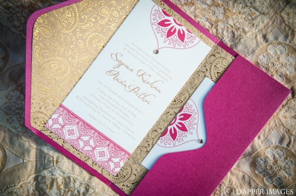 Indian wedding stationary invitations paper graphic design