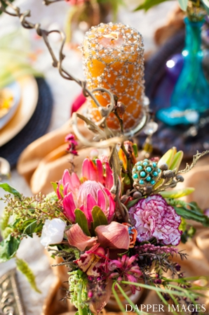 Indian wedding table setting decor ideas