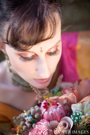 Indian wedding bridal makeup and hair ideas
