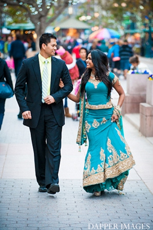 Indian wedding engagement street smiling in Sunday Sweetheart Winners ~ Kazi and Malyha by Dapper Images