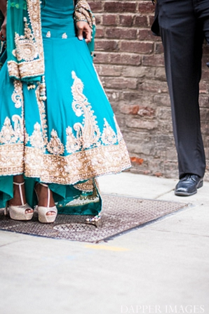 Indian wedding portraits bride and grooms hoes in Sunday Sweetheart Winners ~ Kazi and Malyha by Dapper Images