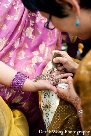 Indian wedding sangeet mehndi in Kailua, Hawaii Indian Wedding by Derek Wong Photography