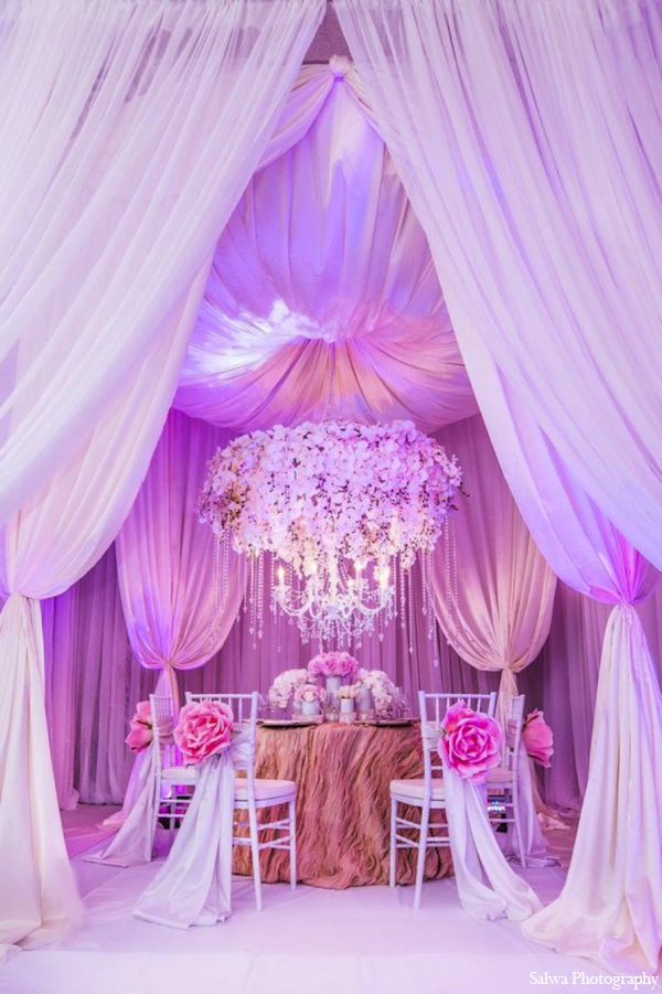 Indian wedding design ideas in Design House Decor Indian Bridal Inspiration Shoot by Salwa Photography