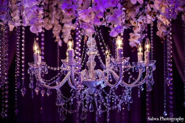 Indian wedding lighting ideas in Design House Decor Indian Bridal Inspiration Shoot by Salwa Photography