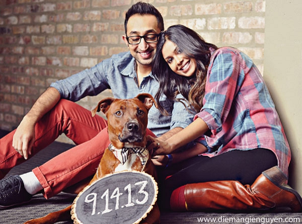 Indian engagement wedding portraits in Sunday Sweetheart Winners ~ Sonia & Rishab by Diem Angie Photography