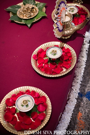 Indian wedding ceremony hindu decor in Morganville, New Jersey Indian Wedding by Dinesh Siva Photography