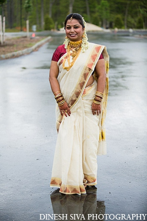 Indian wedding hindu bridal fashion in Morganville, New Jersey Indian Wedding by Dinesh Siva Photography