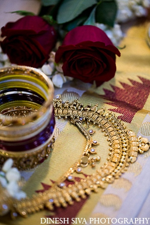 Indian wedding hindu bridal jewelry in Morganville, New Jersey Indian Wedding by Dinesh Siva Photography