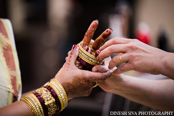 Indian wedding hindu bridal mehndi jewelry in Morganville, New Jersey Indian Wedding by Dinesh Siva Photography
