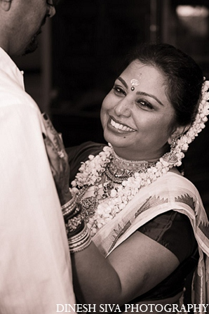 Indian wedding hindu bridal portrait in Morganville, New Jersey Indian Wedding by Dinesh Siva Photography