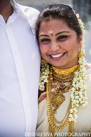 Indian wedding hindu bride traditional portrait in Morganville, New Jersey Indian Wedding by Dinesh Siva Photography