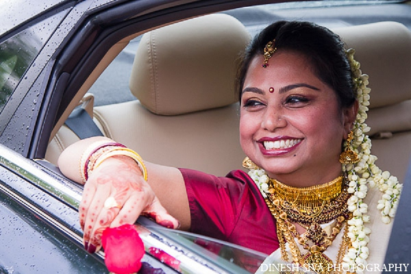 Indian wedding hindu tradition bride fashion in Morganville, New Jersey Indian Wedding by Dinesh Siva Photography