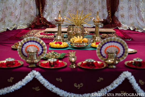 Indian-wedding-traditional-hindu-decor in Morganville, New Jersey Indian Wedding by Dinesh Siva Photography