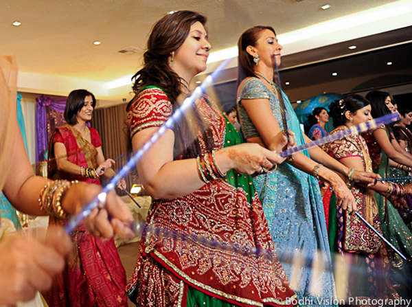 Indian wedding bridal dancing music tradition