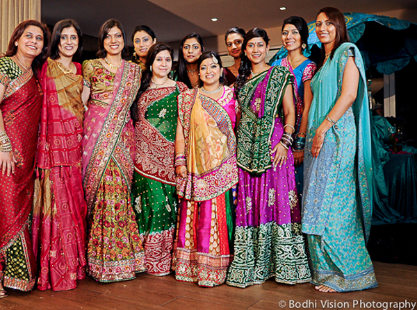 Indian wedding bridal party tradition