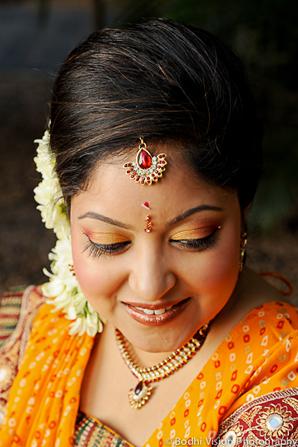 Indian wedding hair makeup jewelry