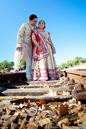 Indian wedding portrait tradition
