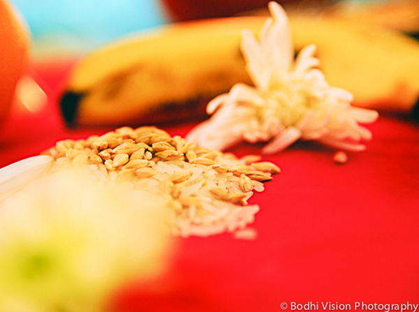 Indian wedding tradition custom sanji