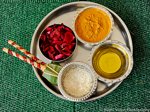 Indian wedding tradition spices
