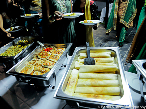 Indian wedding traditional mehndi ceremony catering