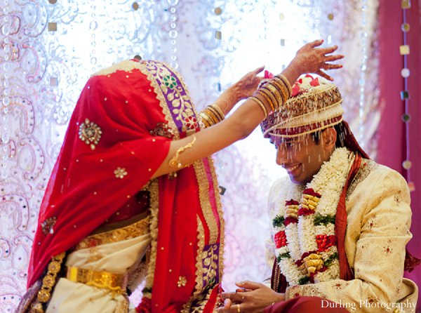 Indian wedding bride traditions groom ceremony