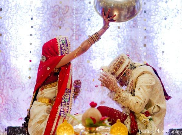 Indian wedding ceremony bride groom traditions