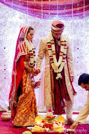 Indian wedding ceremony venue mandap photography
