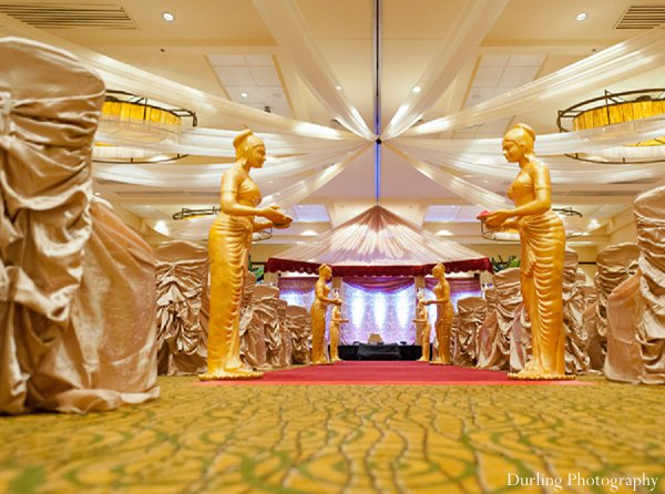 Indian wedding ceremony venue mandap