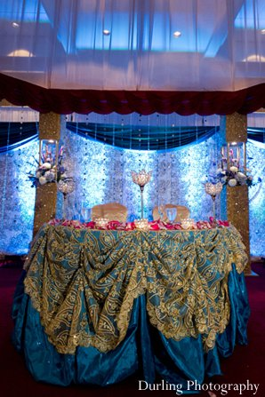 Indian wedding decor reception planning design
