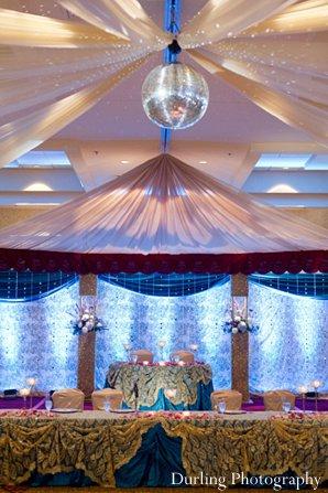 Indian wedding design decor floral reception