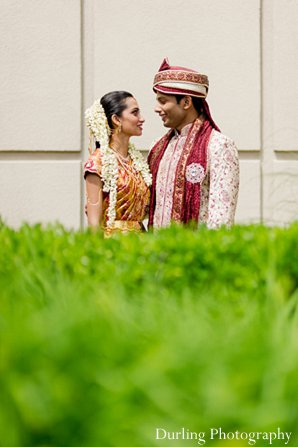 Indian wedding first look portraits