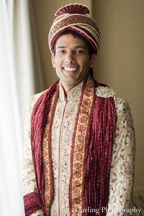 Indian wedding groom sherwani