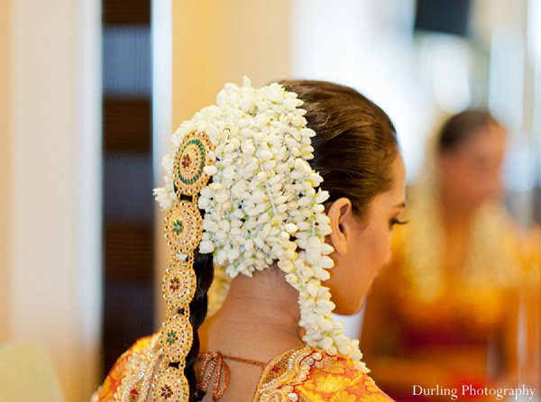 Indian wedding hair makeup accessories