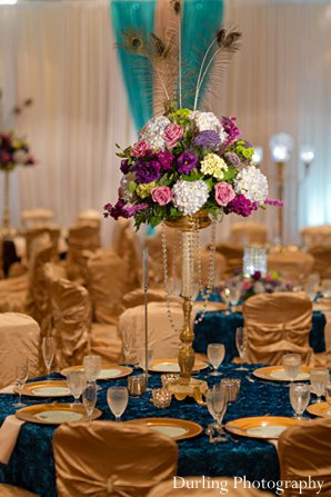 Indian wedding reception design style
