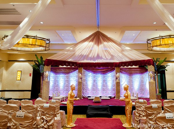 Indian wedding venue ceremony mandap