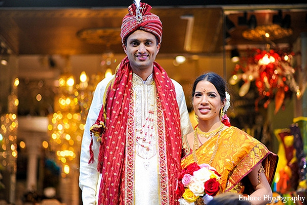 Indian wedding bride groom ceremony hindu in San Francisco, California Indian Wedding by Enluce Photography