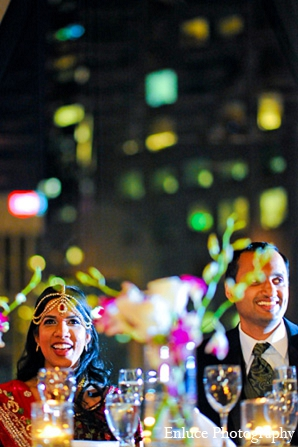 Indian wedding photography reception bride groom in San Francisco, California Indian Wedding by Enluce Photography