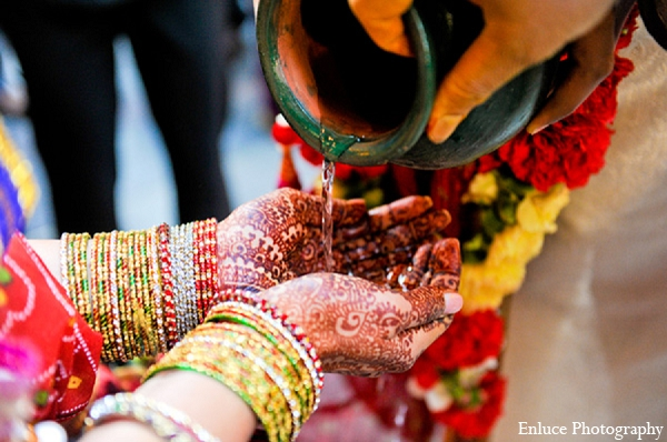 Indian wedding traditions ceremony photography in San Francisco, California Indian Wedding by Enluce Photography