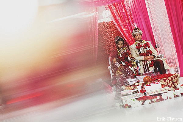 indian wedding ceremony bride groom photography