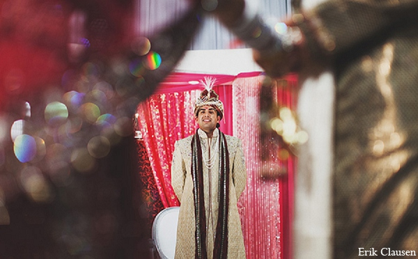 Indian wedding groom ceremony photography in Dallas, Texas Indian Wedding by Erik Clausen