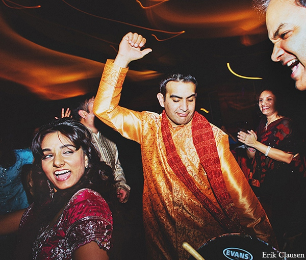 Indian wedding groom mehndi bride in Dallas, Texas Indian Wedding by Erik Clausen